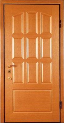 Двери с отделкой филенчатой МДФ