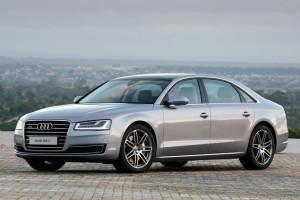 Audi A8L высший свет