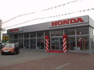 Салон техники Хонда.