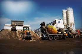 О производстве бетона