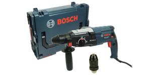 Комплектовка и возможности перфоратора GBH 2-28 DFV от компании Bosch