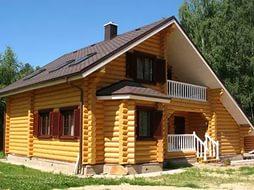 Что такое дом из бруса?