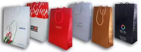 Печать рекламы на пакетах