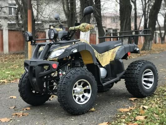 Hummer 200 LUX osenniy camouflage side